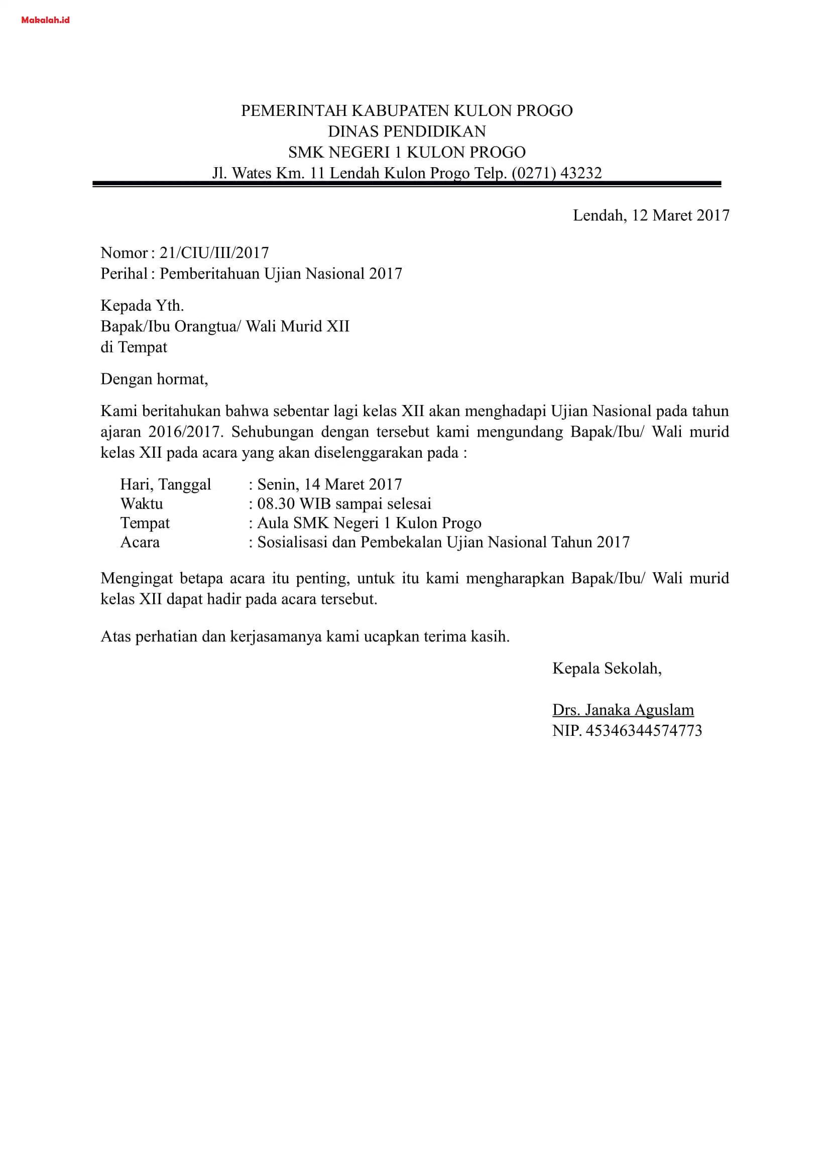 Contoh Surat Edaran Pengertian Fungsi Dan Contoh Edaran