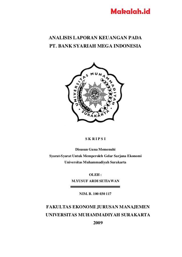Judul Skripsi Akuntansi Keuangan Terbaru 2018