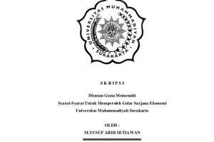 Skripsi Akuntansi Keuangan Archives Karya Tulis Dan Makalah Ilmiah