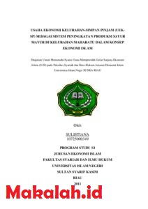 Proposal Skripsi Ekonomi Syariah Kuantitatif