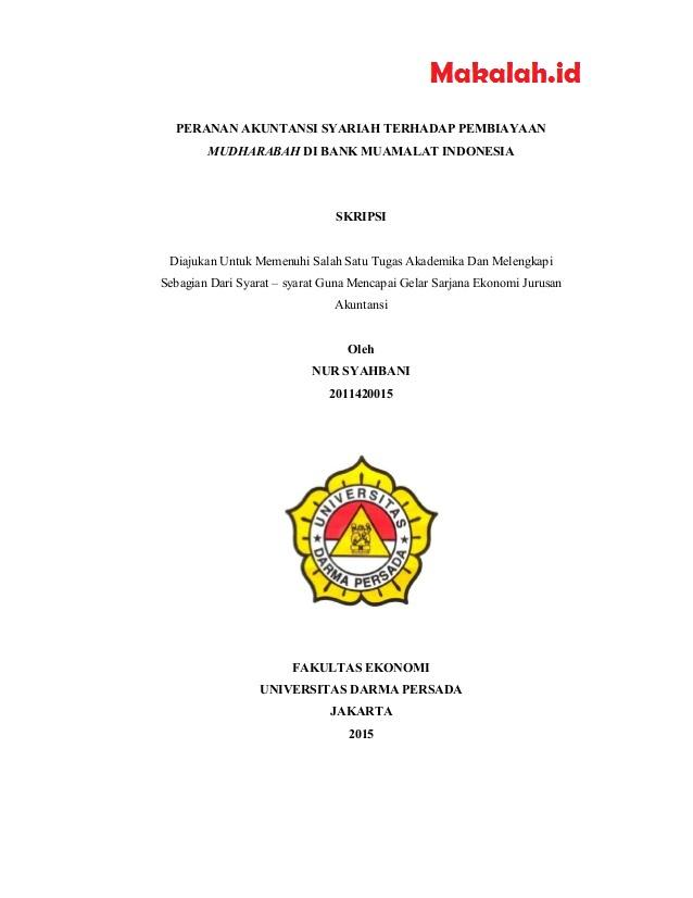 Judul Skripsi Ekonomi Islam Kuantitatif Dan Kualitatif Terbaru 2018
