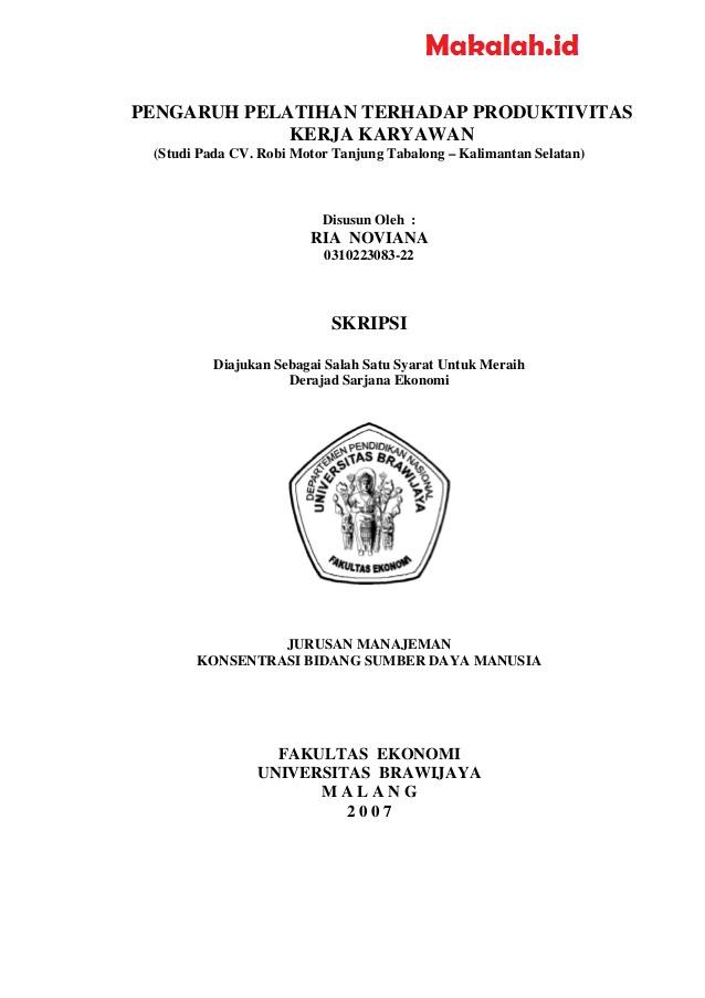 Contoh Judul Skripsi Kualitatif Ilmu Komunikasi Kumpulan