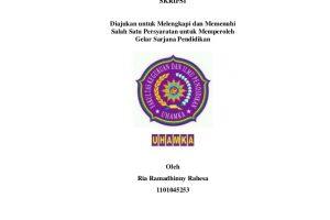 Skripsi Kualitatif Archives Karya Tulis Dan Makalah Ilmiah