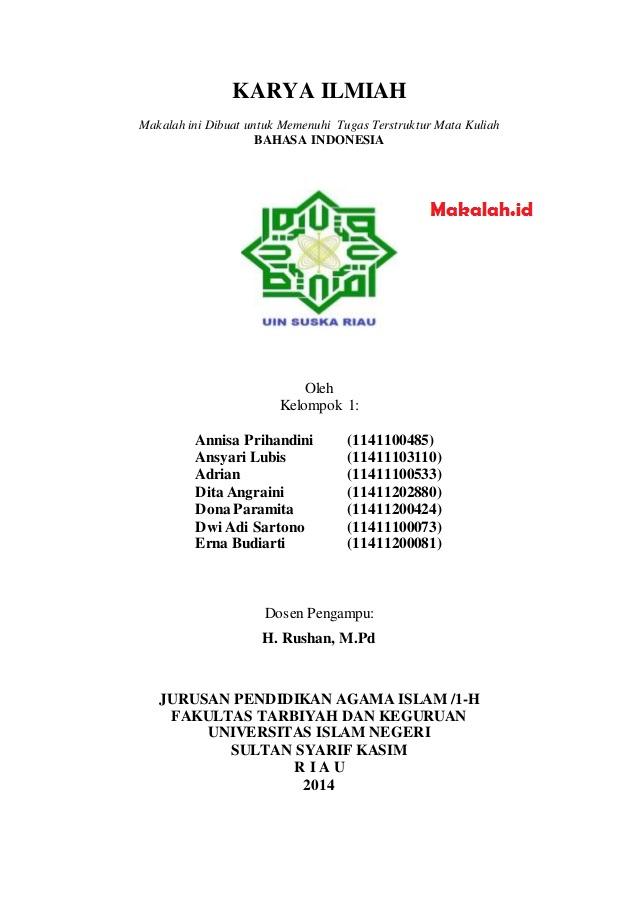 Download Karya Tulis Ilmiah Pendidikan