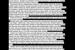 Contoh Teks Observasi Singkat